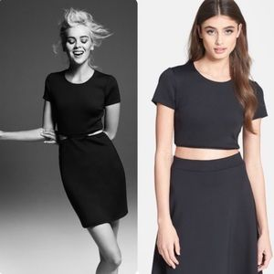 Bailey44 Black Zipper Dress